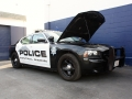 We fix cop cars and vehicles for our local police department