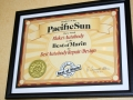 Pacific Sun Best of Marin Auto Body Hall of Fame
