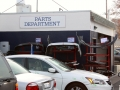 Extensive Parts Department to get your car back  to you quickly