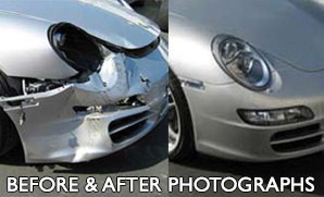 Blake's Auto Body Repair, Before and After Photos